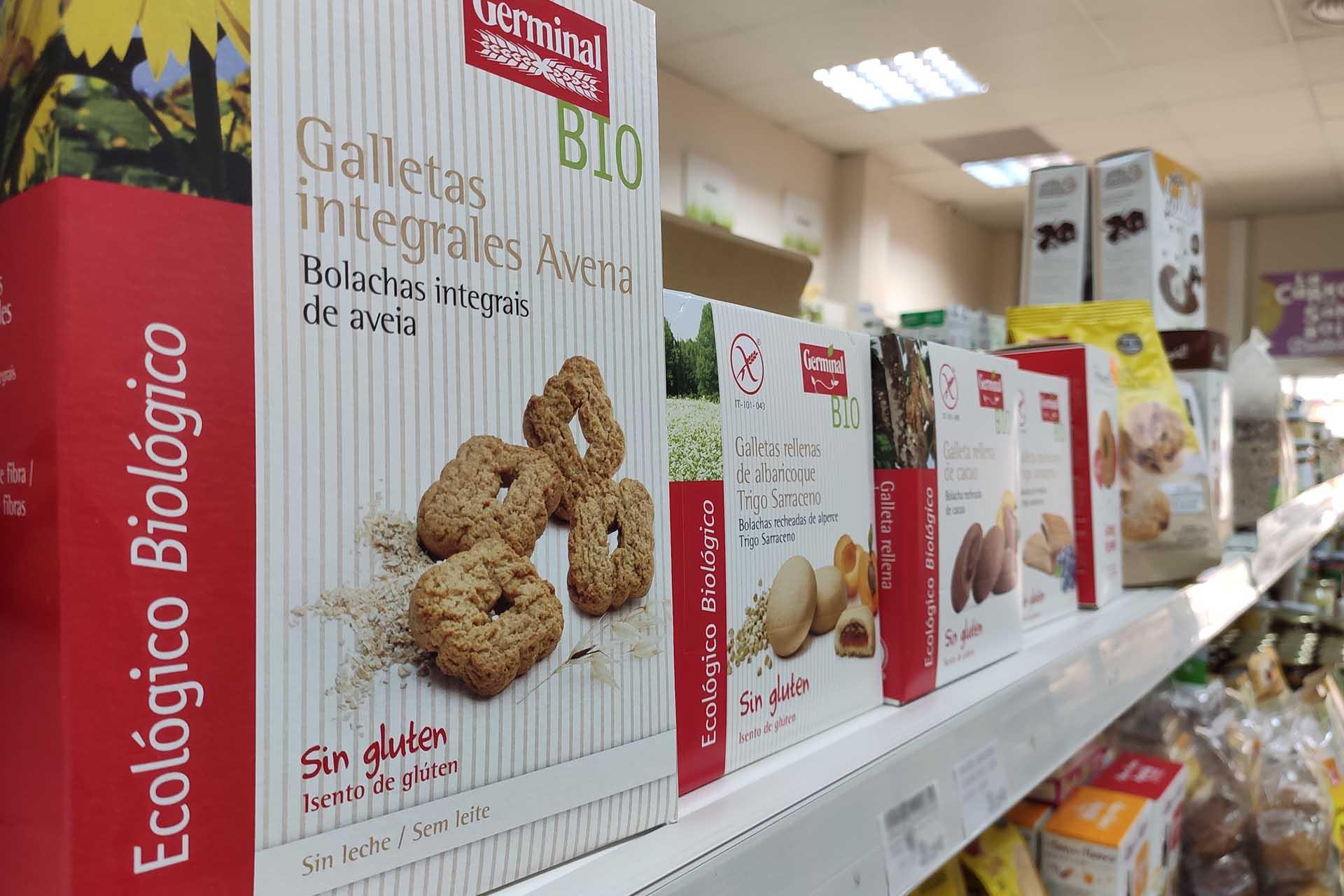 Cajas Galletas Sin gluten Ecológicas