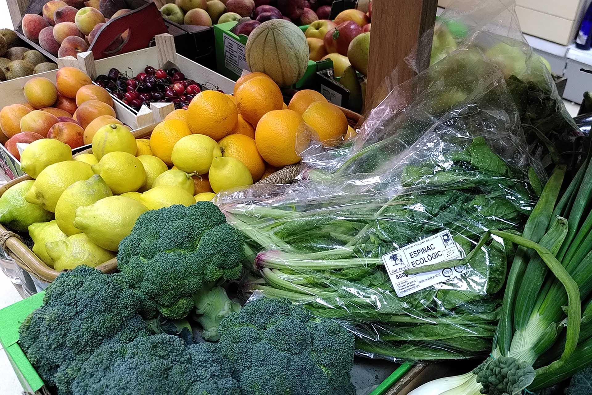 Fruta y Verdura, productos frescos y ecológicos