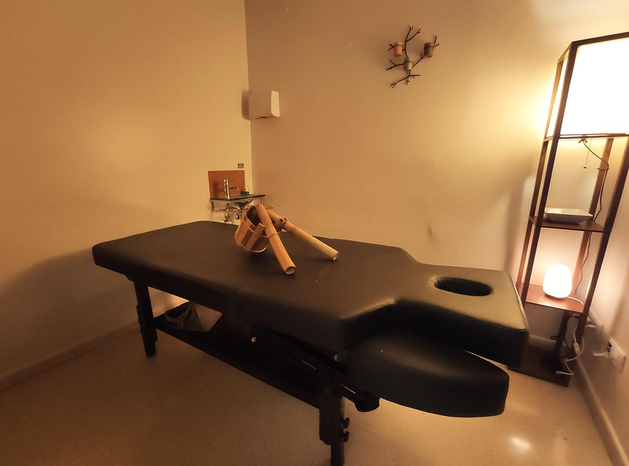 Cabina masajes