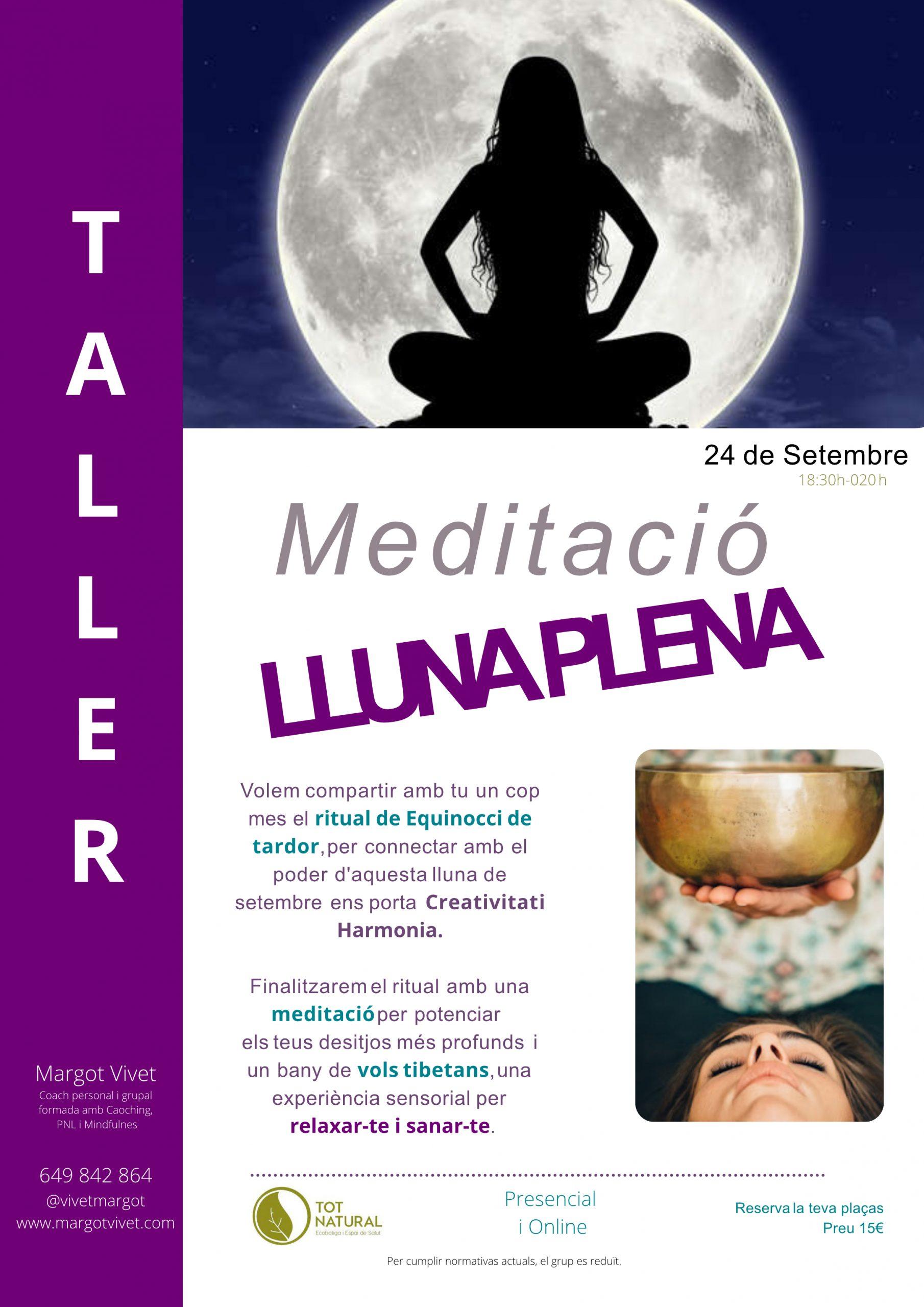 Taller Meditació Lluna Plena